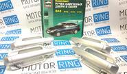 Наружные евро ручки дверей «Тюн-Авто» в цвет кузова (под сверление) для Лада Приора, ВАЗ 2110-12