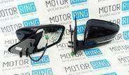 Боковые зеркала «Лифтбек» с электроприводом, обогревом и повторителем для Лада Гранта, Калина, Калина 2, Datsun