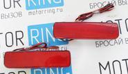Светодиодные катафоты в задний бампер для Шевроле Нива, ВАЗ 2111