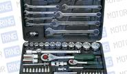 Набор профессионального инструмента 1/4 и 1/2 6 гр. 82 предмета «FORCE» Ф4821-5