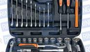 Набор инструмента 41 предмет, 1/2, 6 гр. «АвтоDело» 39941