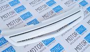 Декоративная решетка радиатора 1 лопасть в цвет кузова для Лада Приора SE