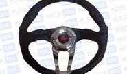Спортивный руль для автомобилей ВАЗ, R1 черный (5112)