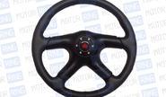 Спортивный руль для автомобилей ВАЗ, R1 черный (5159)