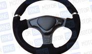 Спортивный руль с анатомической формой (62) замша на автомобили ВАЗ