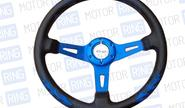 Спортивный руль для автомобилей Ваз пламя, rtech (76)