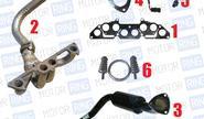 Выпускной комплект 4-1 без глушителя для ВАЗ 2101-07 8V, Стингер