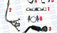 Выпускной комплект без глушителя для ВАЗ 2101-07 16V, Subaru Sound Стингер