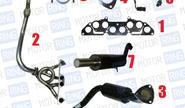 Выпускной комплект с глушителем для ВАЗ 2101-07 8V, Subaru Sound Стингер