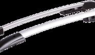 Рейлинги для Hyundai i-30, серый анод