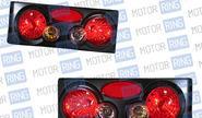 Задние фонари ProSport RS-07490 3D для ВАЗ 2108-14, черные