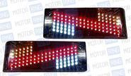 Задние диодные фонари «Зигзаг» 0013l для автомобилей ВАЗ 2108-14