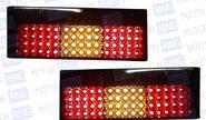 Задние диодные фонари тонированные для ВАЗ 2108-14