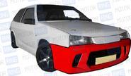 Передний бампер Фанат-спорт в цвет кузова для ВАЗ 2108-099