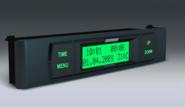 Бортовой компьютер Гамма GF 115T зеленый на ВАЗ 2108-21099, 2113-2115