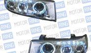 Фары PROSPORT RS-07625 «Angel eyes» для ВАЗ 2110-12, диодный поворот, хром.