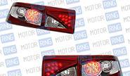 Задние фонари ProSport RS-04624 «Глаз орла» для ВАЗ 2110, 2112 диодные, хром