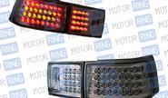 Задние фонари ProSport RS-04087 для ВАЗ 2110, 2112 диодные, тонированный хром