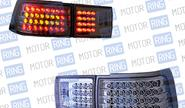 Задние фонари ProSport RS-04085 для ВАЗ 2110, 2112 диодные, хром