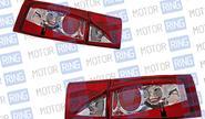 Задние фонари ProSport RS-02813 «Глаз орла» для ВАЗ 2110, 2112, хром