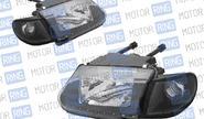 Фары PROSPORT RS-10057 для ВАЗ 2113-15 с ДХО, чёрные.