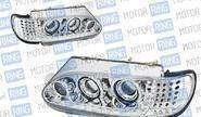 Фары PROSPORT RS-06724 для ВАЗ 2113-15 «А5» с ДХО, диодный поворот, хром.