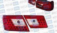 Светодиодные задние фонари ProSport RS-07655 для ВАЗ 2115 прозрачные, красный корпус