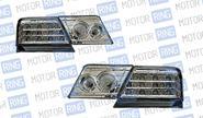 Светодиодные задние фонари ProSport RS-02305 для ВАЗ 2115, хром корпус