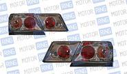 Задние фонари ProSport RS-02621 для ВАЗ 2115 тонированные, хром корпус
