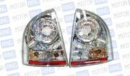 Задние фонари ProSport RS-03260 для Лада Калина (седан), хром