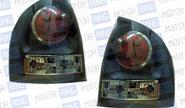 Задние фонари ProSport RS-03259 для Лада Калина (седан), черный корпус