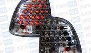 Задние светодиодные фонари для Лада Калина (седан), черный хром RS-03262