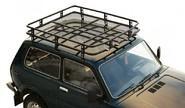 Багажник 0351 «Трофи» с сеткой для Лада 4х4 2121