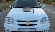 Капот стеклопластиковый «DTM» для Шевроле Нива