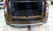 Накладка на задний бампер для Renault Duster
