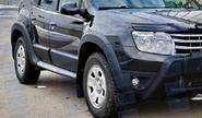 Расширители колесных арок «КАРТ №2» для Renault Duster 2011-15