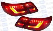 Задние фонари «Red Smoke» для Toyota Camry 2006-11