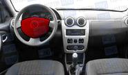Подушка безопасности в руль 8450000283 для Renault Logan, Sandero