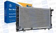 Радиатор 21900-1300010 «KRAFT» Универсальный для Лада Гранта, Калина 2