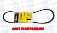 Ремень генератора Contitech 6PK1125 для ВАЗ 2110-12, Лада Приора с ГУРом и кондиционером