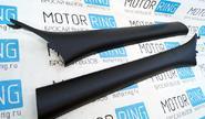 Облицовки стоек ветрового окна черные для Лада Гранта, Калина 2, Datsun