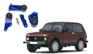 Опоры двигателя и КПП для LADA 4x4, Chevrolet Niva