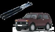 Упоры капота для LADA 4x4, Chevrolet Niva