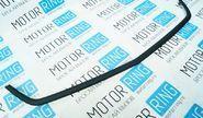 Вставка в решетку радиатора нового образца, черный бархат для Лада Приора 2