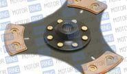 Диск сцепления Clutch Net 3-х лепестковый без демпфера для ВАЗ 2108-099, 2110-12