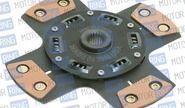 Диск сцепления Clutch Net 4-х лепестковый без демпфера для ВАЗ 2108-099, 2110-12