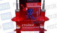 Комплект газомасляных стоек и амортизаторов «RZ LUX Sport» для ВАЗ 2110-12