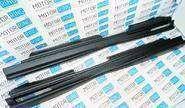Пороги с сеткой неокрашенные для ВАЗ 2110-12