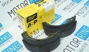 Тормозные колодки задние ASP Mensan для переднеприводных автомобилей ВАЗ без АБС