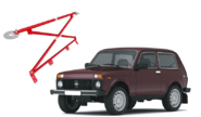 Усилители кузова для LADA 4x4, Chevrolet Niva
